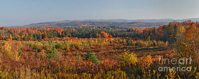 Colorful Photograph - Cabot Plains Revisited by Charles Kozierok