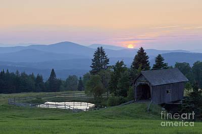 Photograph - Cabot Plains Sunset by Alan L Graham