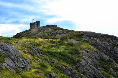 Photograph - Cabot Tower Nfld by Steve Hurt