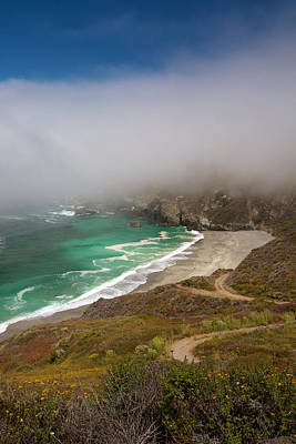 Photograph - Cabrillo Sea Fog by David Beebe