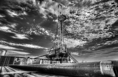 Oil Wells Photograph - Cac001-6 by Cooper Ross