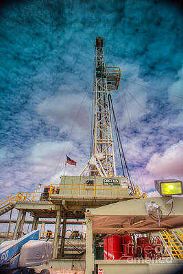 Oil Field Photograph - Cac008-2r115 by Cooper Ross