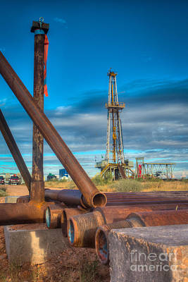 Oil Well Photograph - Cac008-5r124 by Cooper Ross