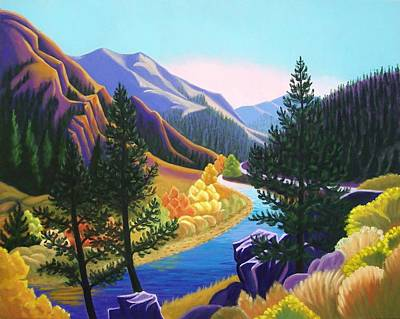 Painting - Cache De Poudre by Ruth Soller