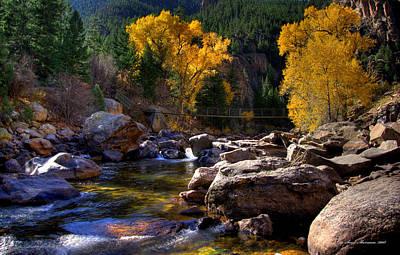 Ft Collins Photograph - Cache La Poudre Autumn.h by Sam Sherman