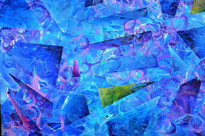 Painting - Cacophany Full Frame by Regina Valluzzi