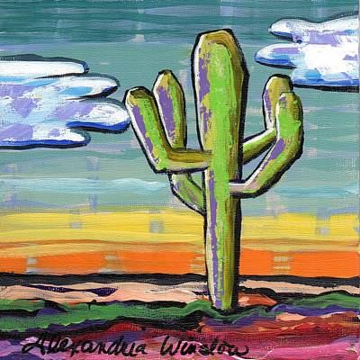 Painting - Cactus by Alexandria Winslow
