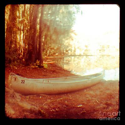 Caddo Canoe Art Print by Sonja Quintero
