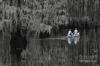 Texas Lake Photograph - Caddo Lake Texas by Bob Christopher