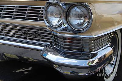 Photograph - Caddy Grill Closeup by Mark Spearman