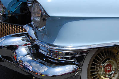 Photograph - Caddy Sedan Deville Closeup by Mark Spearman