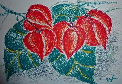 Cadena De Amor Art Print