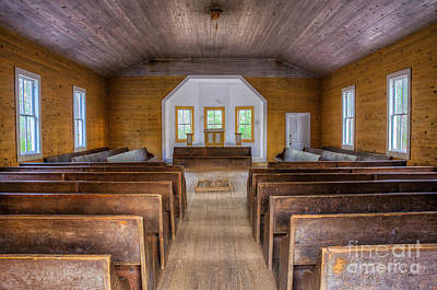 Photograph - Cades Cove Baptist by Anthony Heflin