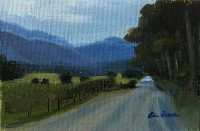 Painting - Cades Cove by Erin Rickelton