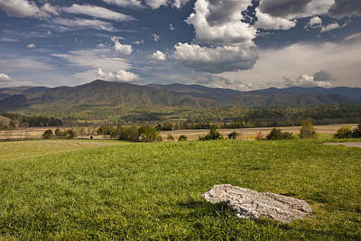Photograph - Cades Cove Landscape by Shari Jardina