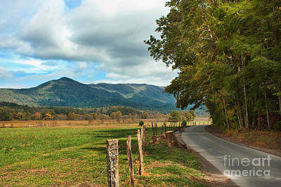 Photograph - Cades Cove  by Lena Auxier