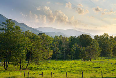 Photograph - Cades Cove by Melinda Fawver