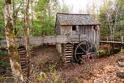 Photograph - Cades Cove Mill by Bob McGill