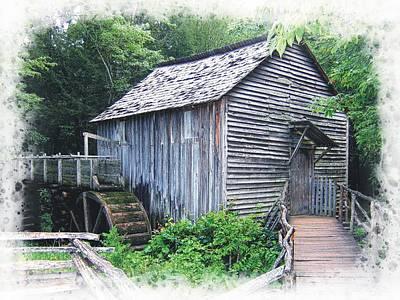 Photograph - Cades Cove Mill by Joe Duket