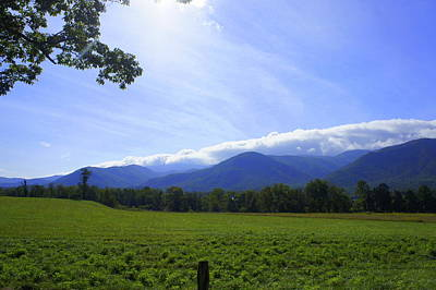 Photograph - Cades Cove Morning by Laurie Perry