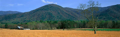 Tn Barn Photograph - Cades Cove Pioneer Settlement, Great by Panoramic Images
