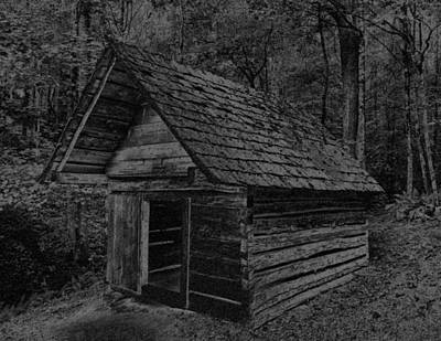 Cades Cove Shed Art Print by Gary Rieks