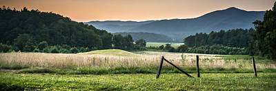 Cades Cove Vista Art Print by Tony Hood