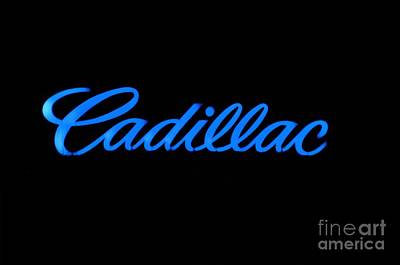 Cadillac Art Print by Andres LaBrada