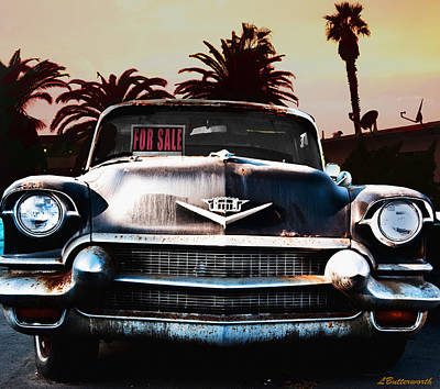 Cadillac Blues Art Print by Larry Butterworth