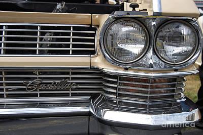 Photograph - Cadillac Closeup by Mark Spearman