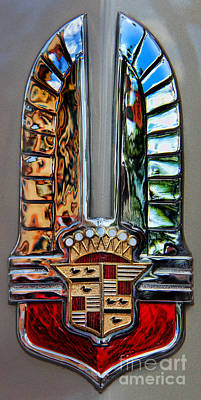 Photograph - Cadillac Emblem II by Lee Dos Santos