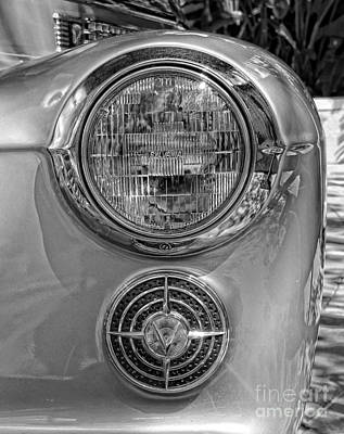 Photograph - Cadillac Headlight by Lee Dos Santos