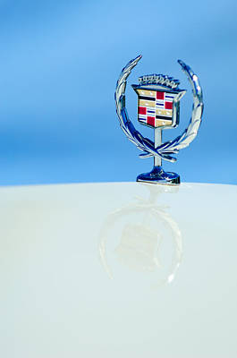Photograph - Cadillac Hood Ornament 4 by Jill Reger