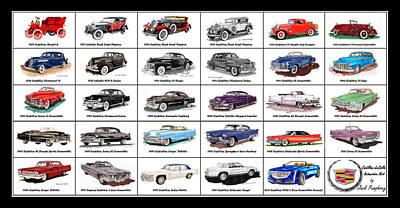 Cadillac La Salle Automotive Poster Art Print by Jack Pumphrey