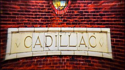 Cadillac Art Print by LeeAnn McLaneGoetz McLaneGoetzStudioLLCcom