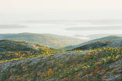 Photograph - Cadillac Mountain - Acadia National Park - Autumn Maine by Keith Webber Jr