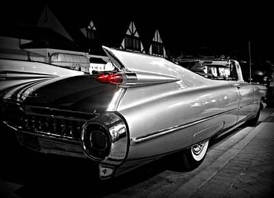 Cadillac Noir Art Print