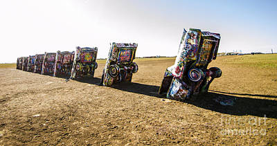 Photograph - Cadillac Ranch 1 Amarillo Texas by Deborah Smolinske