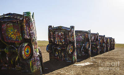Photograph - Cadillac Ranch 2 Amarillo Texas by Deborah Smolinske