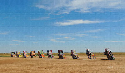 Amarillo Texas Photograph - Cadillac Ranch by Gordon Beck