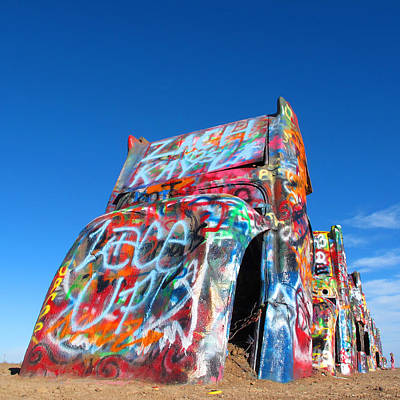 Cadillac Ranch Art Print