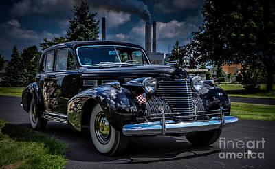 Photograph - Cadillac by Ronald Grogan