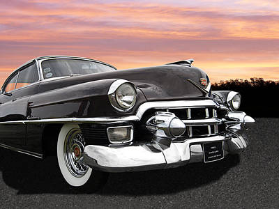 Photograph - Cadillac Sunset by Gill Billington
