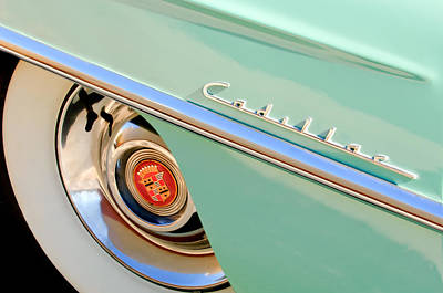Photograph - Cadillac Wheel Emblem by Jill Reger