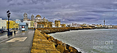 Photograph - Cadiz Skyline - Spain by Carlos Alkmin