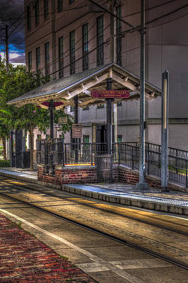 Cadrecha Plaza Station Art Print