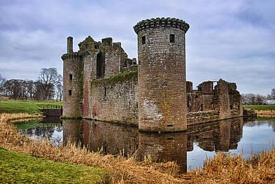 Photograph - Caerlaverock Castle by Jean-Noel Nicolas