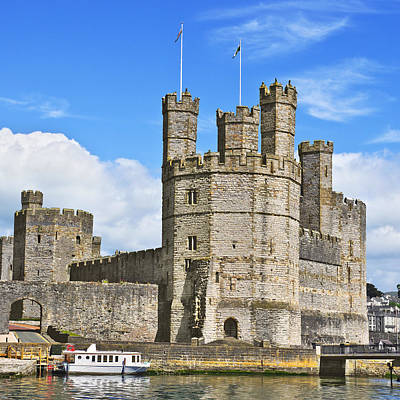 Photograph - Caernarfon Castle by Jane McIlroy