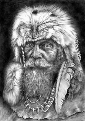 Caesar Of The Wilderness Art Print