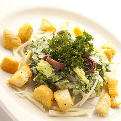 Photograph - Caesar Salad by New  Orleans Food
